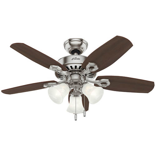 Hunter 42 ceiling fan with light stoneberry hunter 42 aloadofball Choice Image