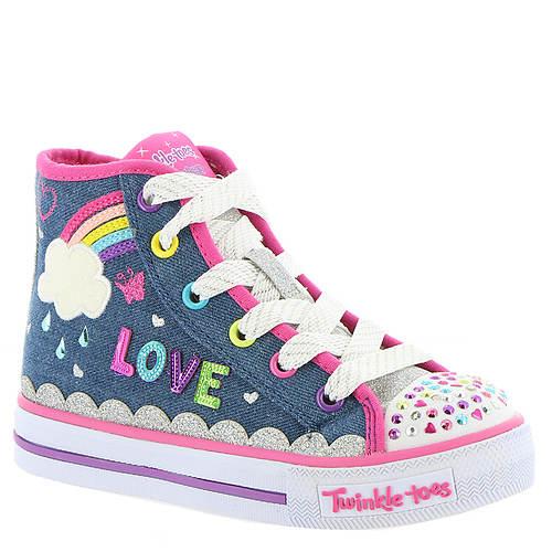 Skechers Twinkle Toes: Shuffles-Sparkle Skies (Girls' Toddler-Youth) EwD9Sbo