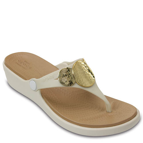 women's Embellished Crocs Wedge Crocs Sanrah Sanrah RwxxUqX01