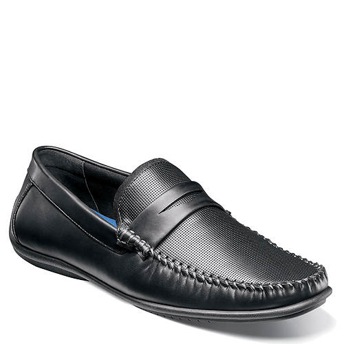 Nunn Bush Quail Valley Penny ... Men's Moc Toe Slip-On Shoes fFD36