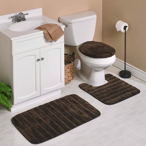 Mohawk 3-Pc. Bath Rug Set | Figi's Gallery on pink bathroom rugs sets, 3 piece living room rug sets, 3 piece bathroom vanities, 3 piece zebra rug sets, foyer rug sets, 3 piece bathroom faucet sets, burgundy bathroom rugs sets, alabama bathroom sets, 3 peice bathroom rugs sets, 3 piece bathroom layout, 3 piece bathroom clocks, bed bath and beyond bathroom sets, sears bathroom sets, red bathroom sets, hunter green bath mat sets, bathroom mats and rugs sets, three-piece rug sets, brown bathroom sets,