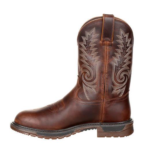 Ride Flx Original Western men's Toe Waterproof Rocky Round fzwqn4vW