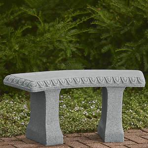 Phenomenal Faux Stone Garden Bench Ncnpc Chair Design For Home Ncnpcorg