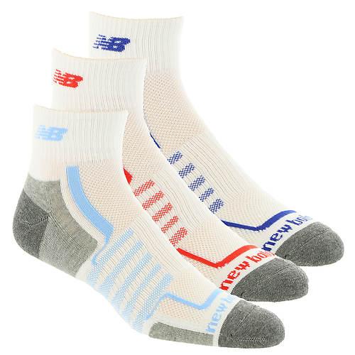 c3b7ae05 New Balance N674-3 Performance Ankle Socks 3-Pack (Men's)