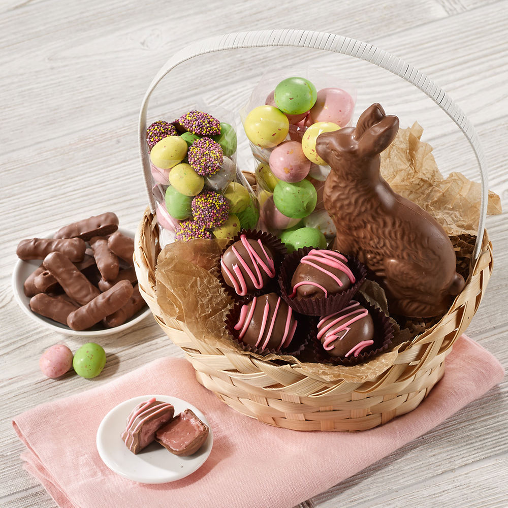 Gourmet Chocolate Easter Basket 1093709 1 A0