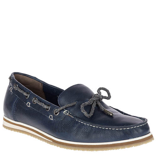 Hush Puppies Bolognese Rope Lace (Navy Leather) Mens Shoes Cheap Latest Professional Ae4yz