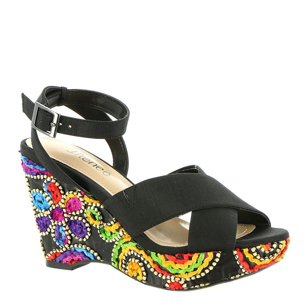Viollette Floral Fabric Sandals QMOIUT