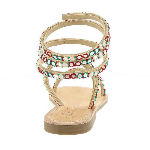 People women's Sandal Free Embellished Havana wHTWzSqxFX