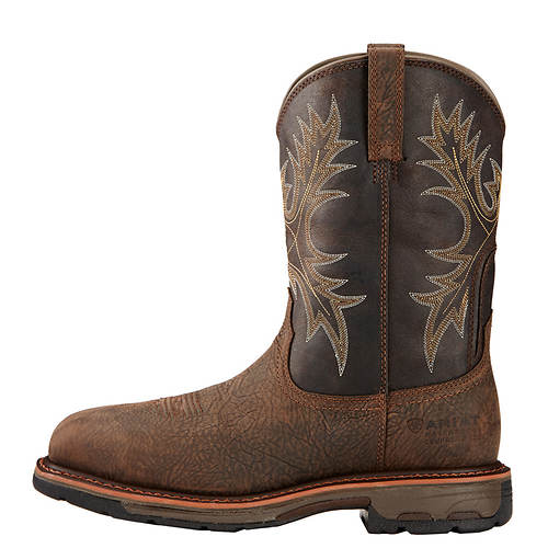 Toe Ct Square Workhog Wide H2o Ariat men's gxtqFwWCB