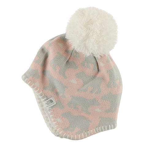 The North Face Girls  Baby Faroe Beanie  7d6b1b90d93