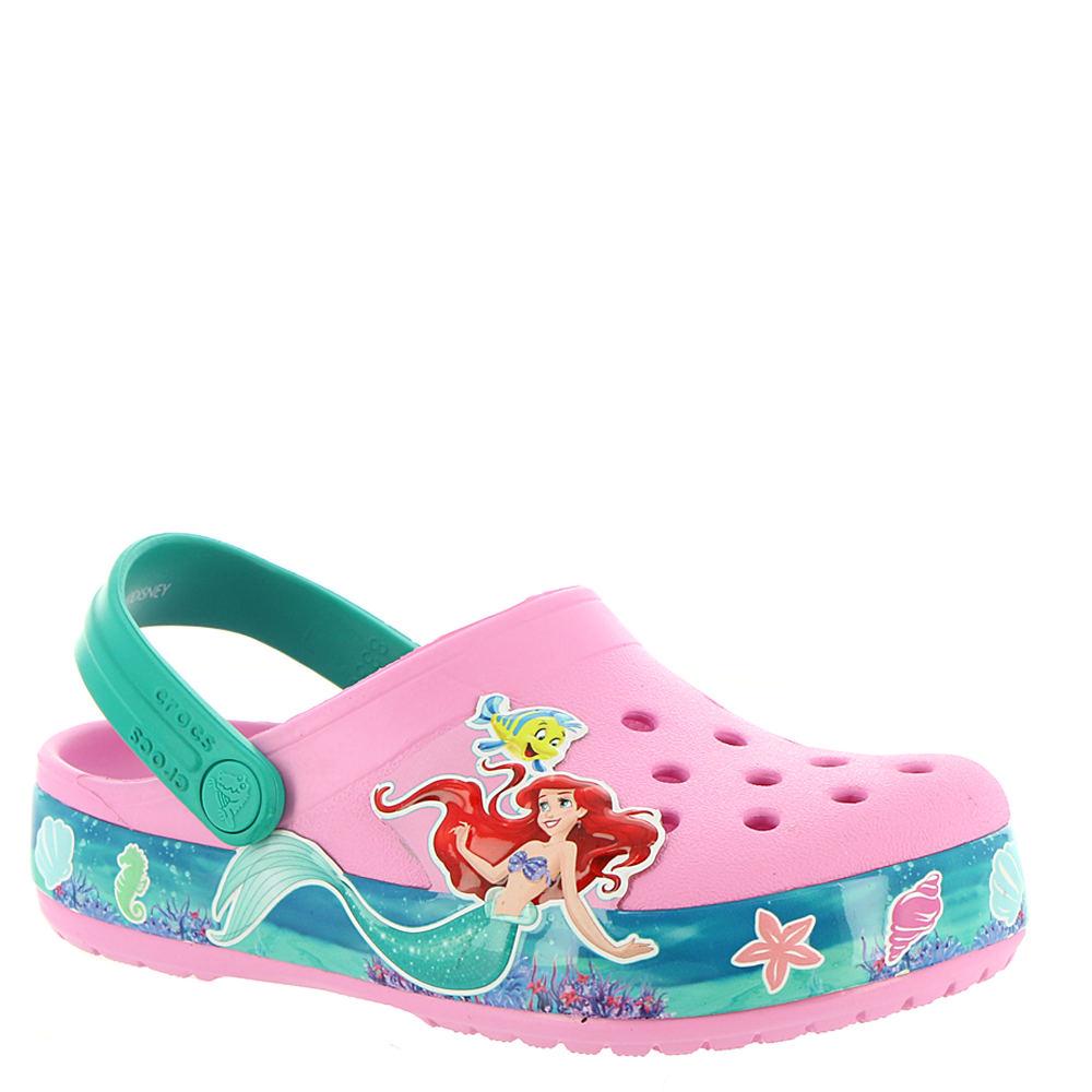 e30b67635b7 Crocs™ Crocband Princess Ariel Clog (Girls  Infant-Toddler-Youth).  1087489-2-A0 1087489-2-A0