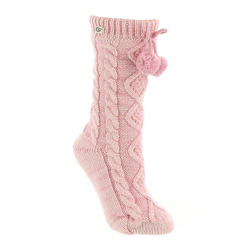 6440568ae57 UGG® Women's Pom Pom Fleece Lined Crew Sock