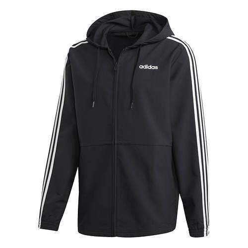 f418dee1c7 adidas Men s Essentials 3-Stripe Woven Hoodie. 1122494-2-A0 ...