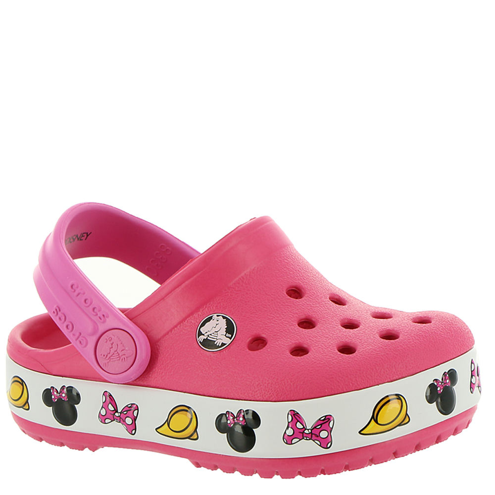 906d17e31f93 Crocs™ Crocband Minnie Clog (Girls  Infant-Toddler-Youth)