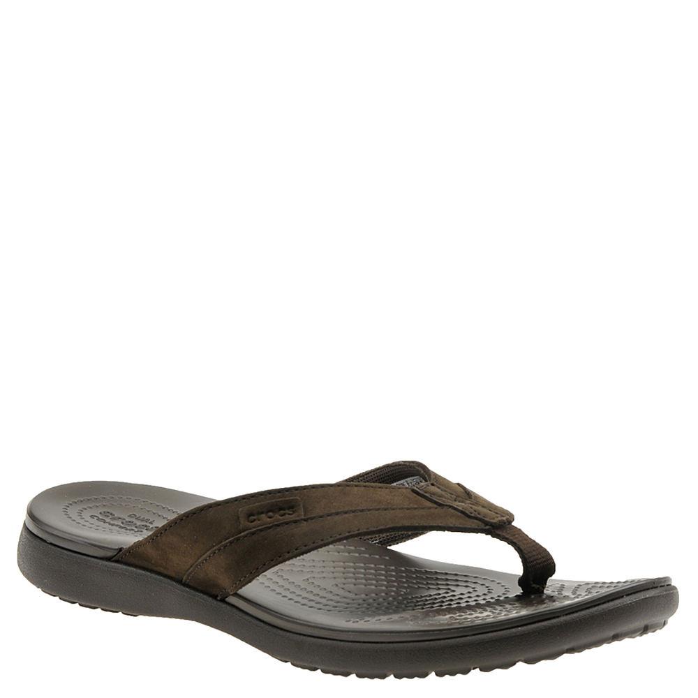 9afc2e250634 Crocs™ Santa Cruz Leather Flip (Men s)
