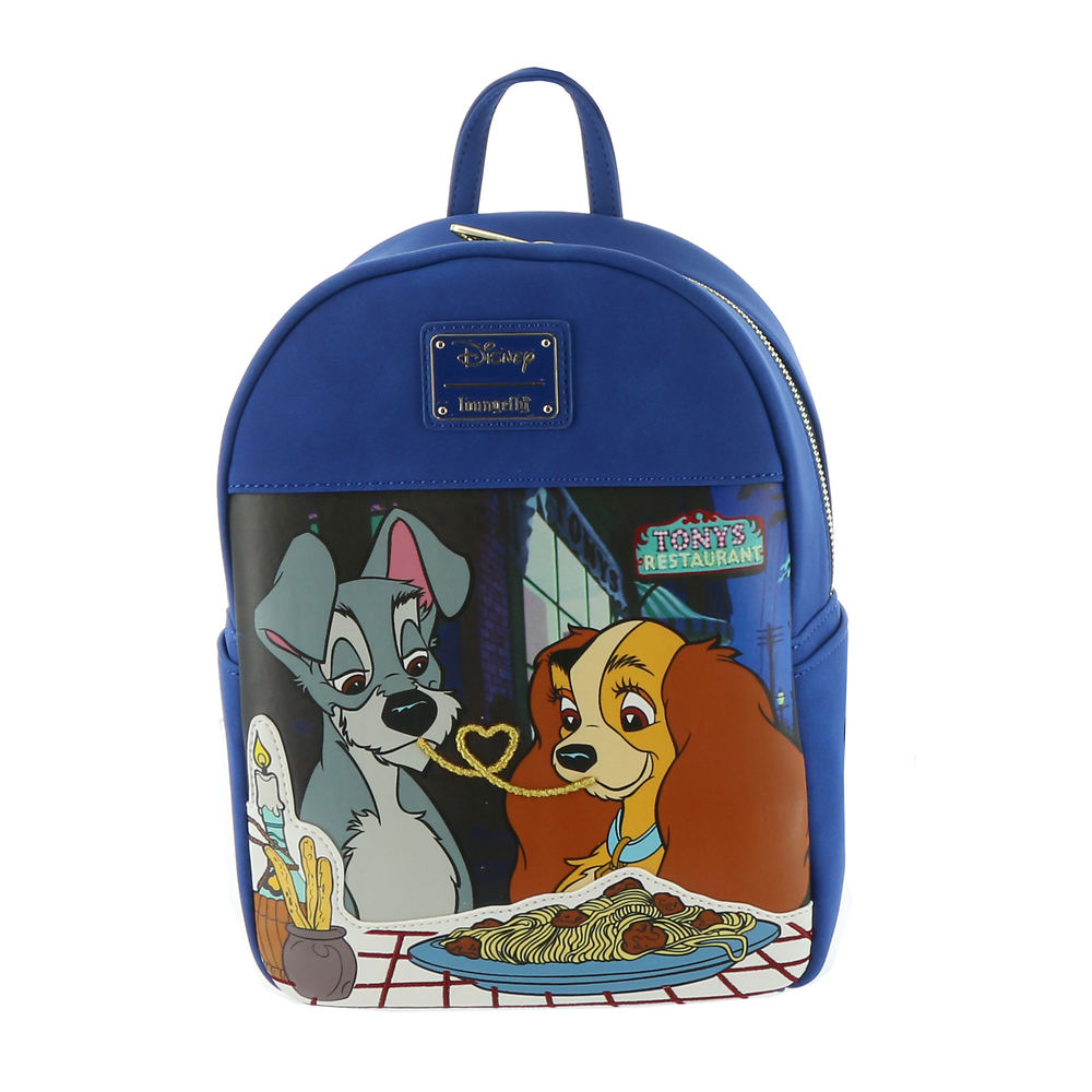 Loungefly The Lady And Tramp Mini Backpack Free Shipping At Shoemall Com