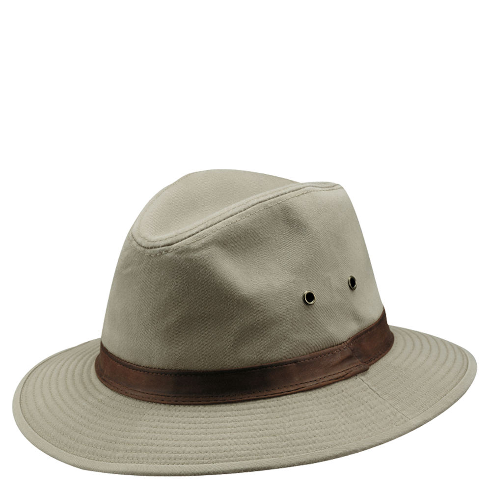 DPC Outdoor Design Men s Washed Twill Safari Hat  794d102f199