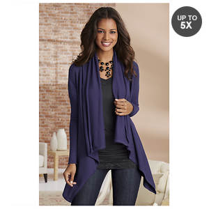 Draped Cardigan