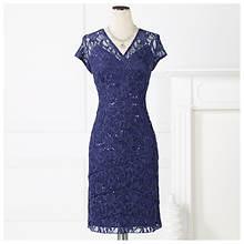Shutter Pleat Sheath Dress