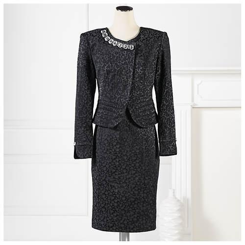 Jewel Brocade Jacket & Dress