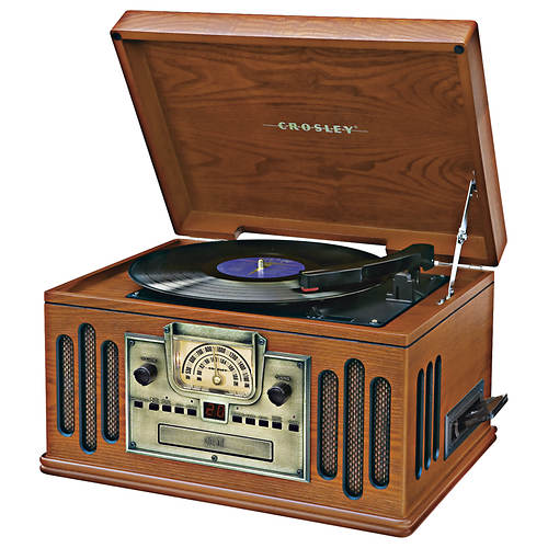 Crosley 5-In-1 Classic Music Center