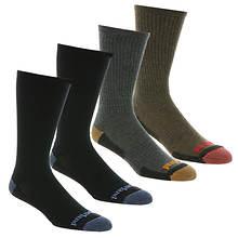 Timberland Men's Comfort Crew Socks 4-Pack