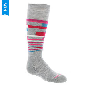 SmartWool Girls' Wintersport Stripe Socks (Toddler-Youth)