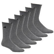 adidas Men's 6-Pack Crew Socks