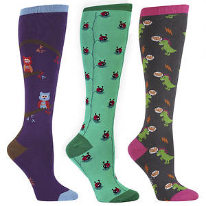 Sock It To Me Women's 3-Pack Animal Friends Socks