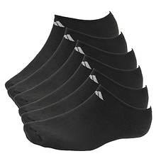 adidas Men's 6-Pack No Show Sock