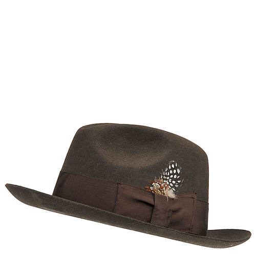 Stacy Adams Men's Fedora Wool Felt Hat
