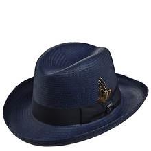 Stacy Adams Men's Homburg Straw Hat