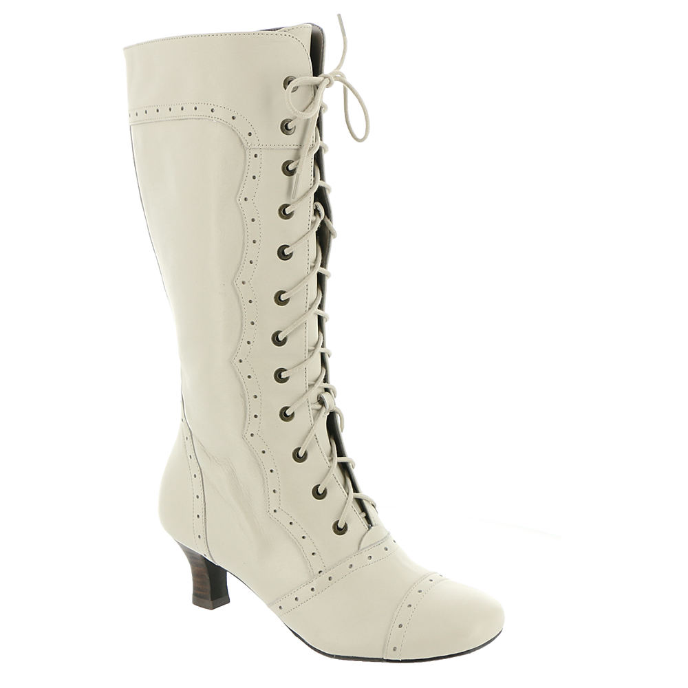 Victorian Wedding Dresses, Shoes, Accessories Array Womens Vintage 12 Bone Boot 7.5 W $186.95 AT vintagedancer.com