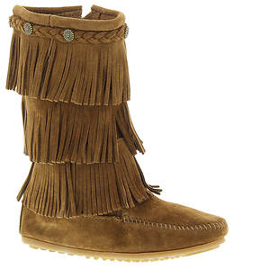 Minnetonka 3-Layer Fringe Boot (Girls' Toddler-Youth)