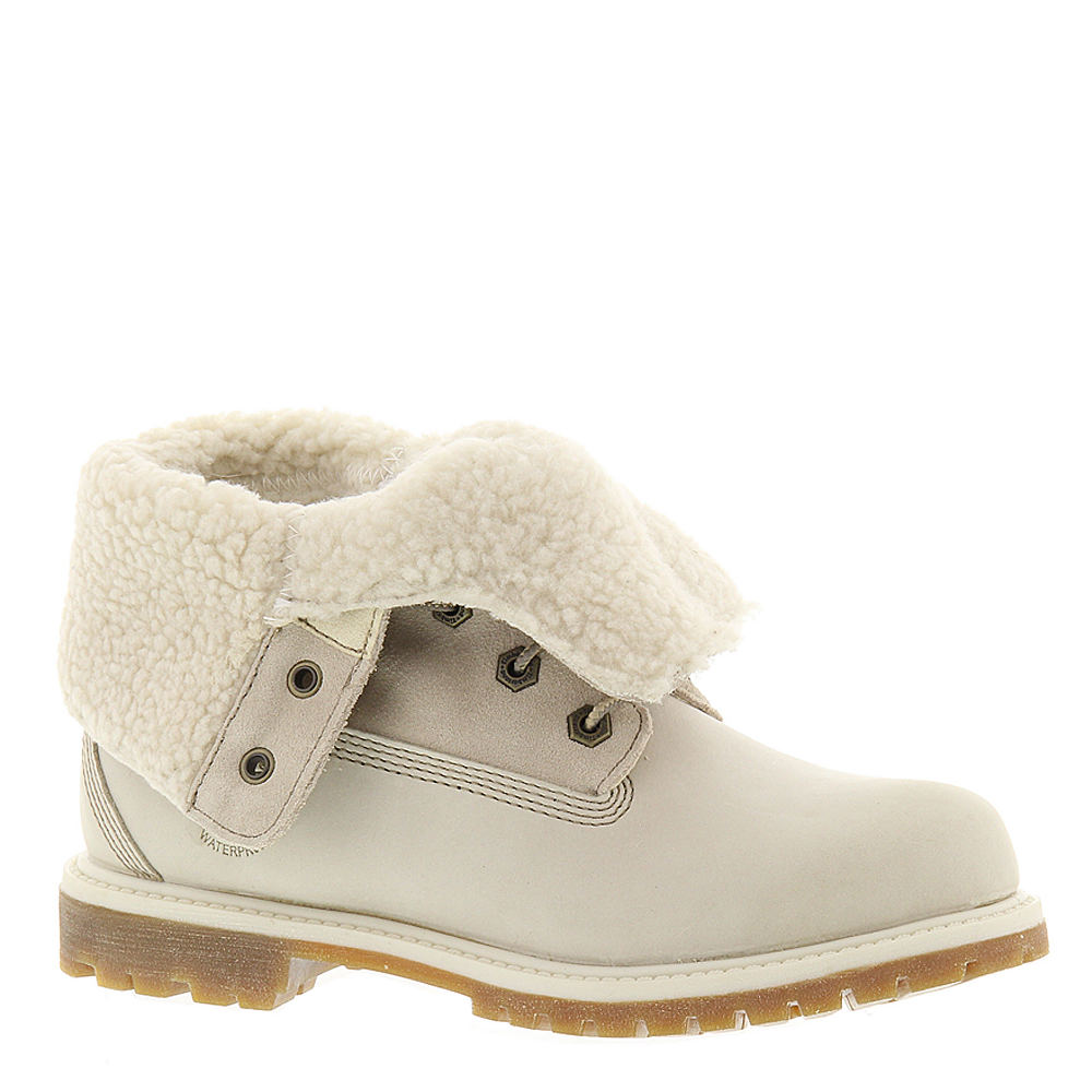 1940s Style Shoes, 40s Shoes Timberland Teddy Fleece Womens White Boot 10 M $164.95 AT vintagedancer.com