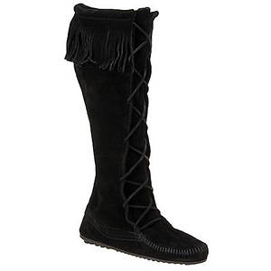Minnetonka Women's Front Lace Hardsole Boot
