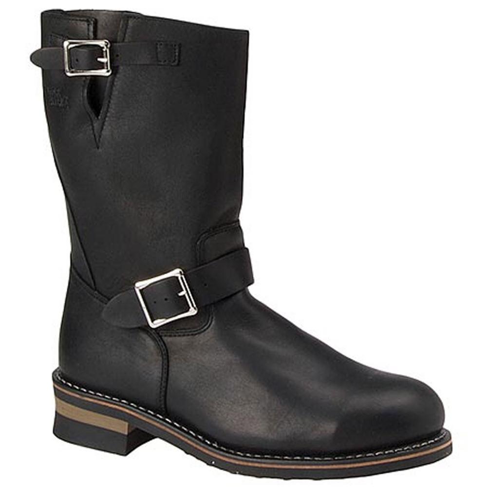 Men's Vintage Workwear Inspired Clothing Work America Mens 11 Wellington Black Boot 9.5 E3 $164.95 AT vintagedancer.com