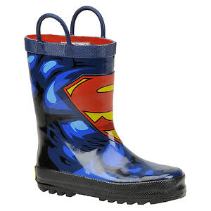 Western Chief Boys' Superman Forever Rainboot (Toddler-Youth)