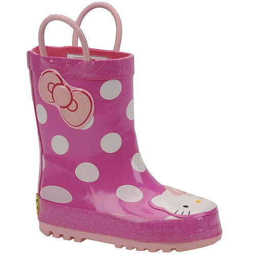 Western Chief Girls' Hello Kitty Cutie Rainboot (Toddler-Youth)