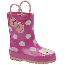 Western Chief Girls' Hello Kitty Cutie Rainboot (Toddler-Youth)