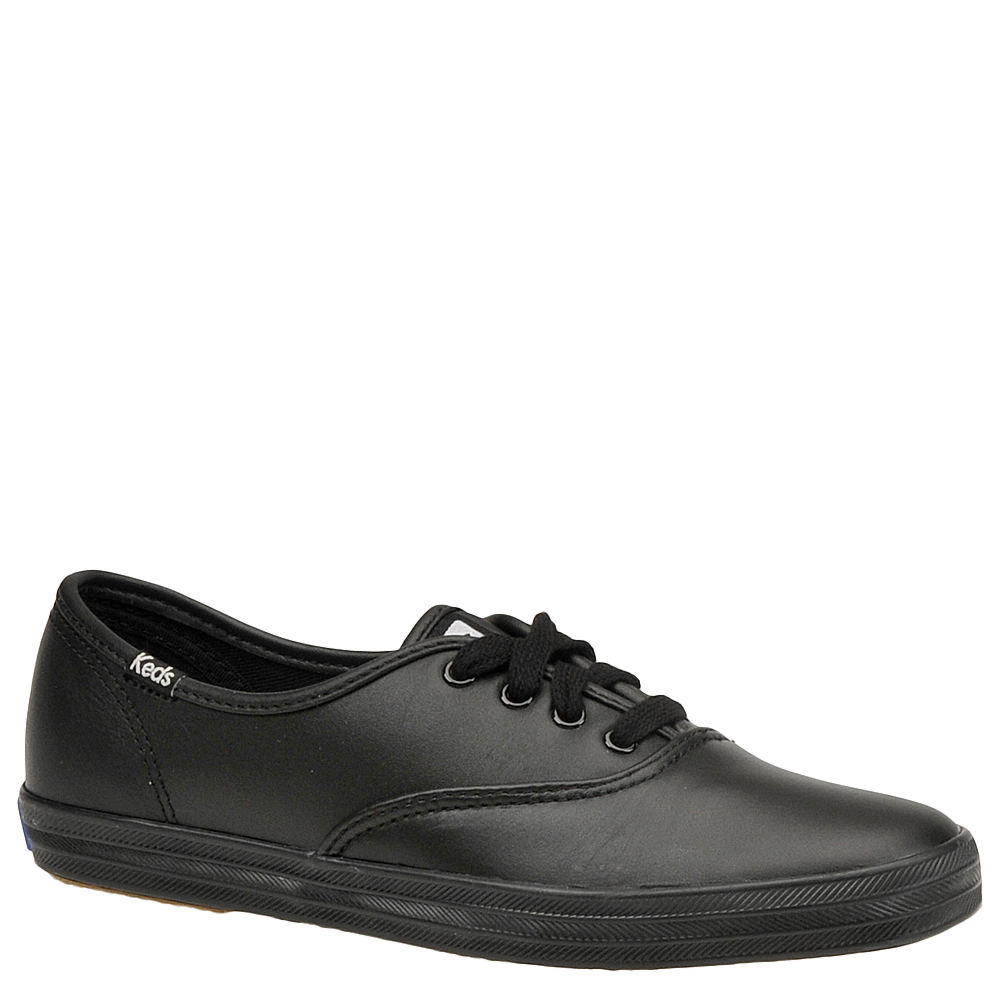 Vintage Sneakers for Men and Women Keds Champion Leather Oxford Womens Black Oxford 8.5 A4 $54.95 AT vintagedancer.com