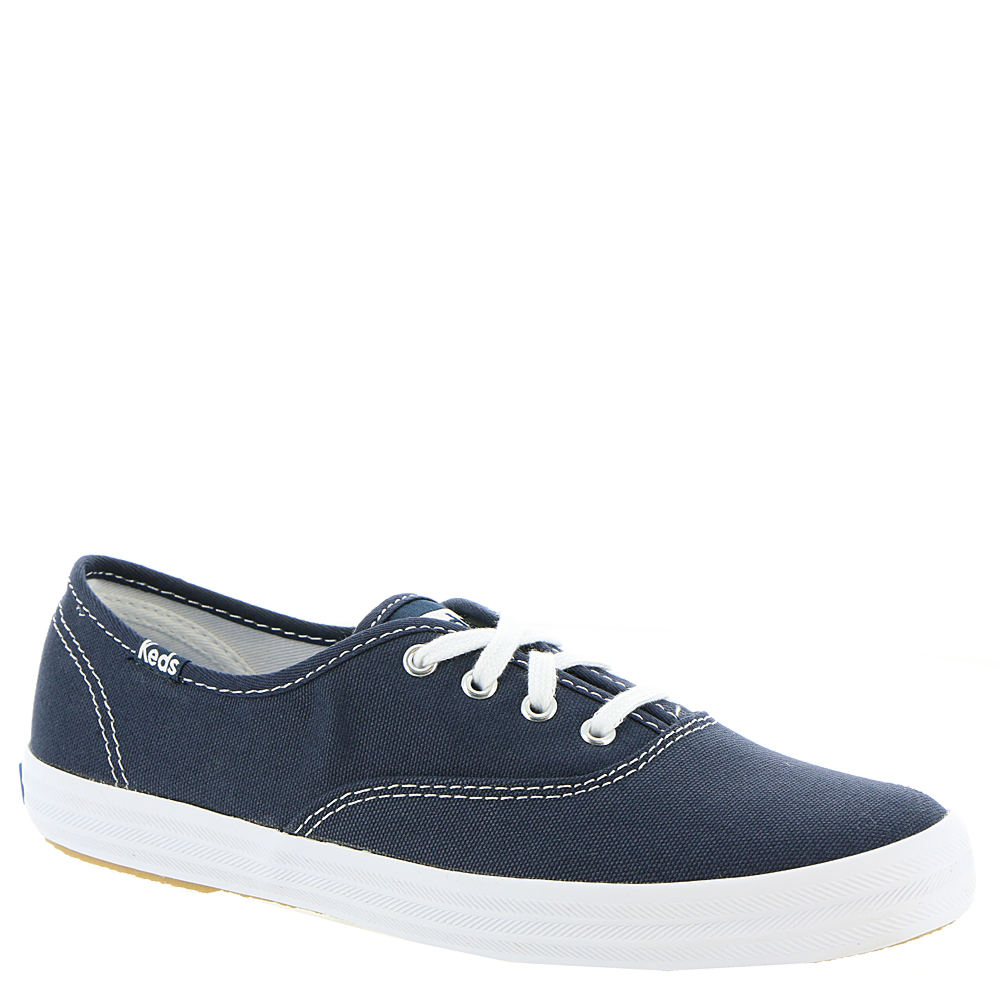 1950s Style Shoes Keds Champion Oxford Womens Blue Navy Oxford 6 B $39.95 AT vintagedancer.com