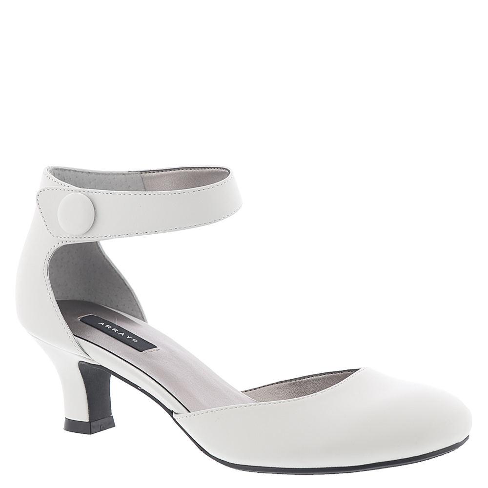 60s Shoes, Go Go Boots   1960s Shoes Array Womens Charlie Pump White Pump 10 M $79.95 AT vintagedancer.com