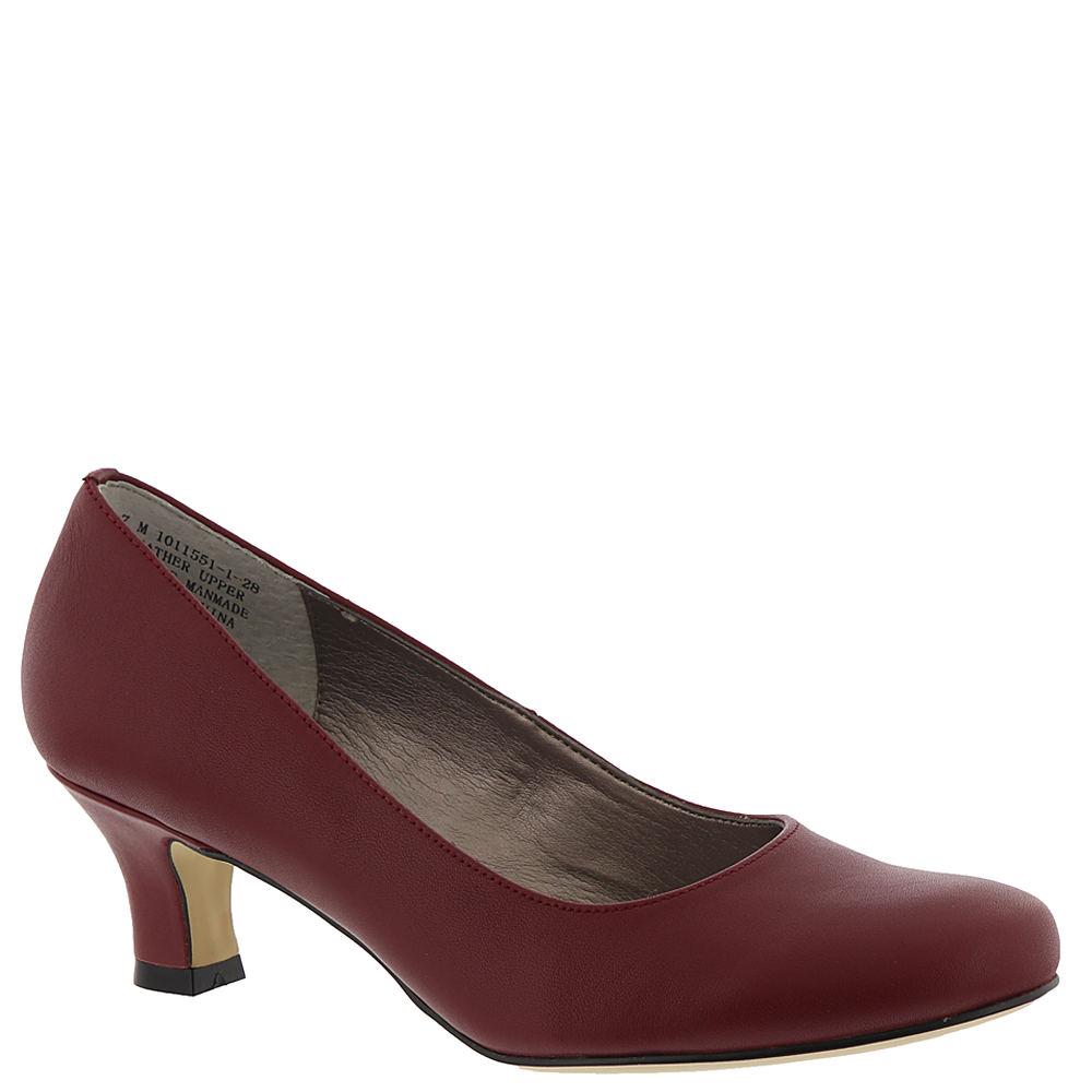 1940s Women's Footwear ARRAY FLATTER Womens Red Pump 10 W $79.95 AT vintagedancer.com