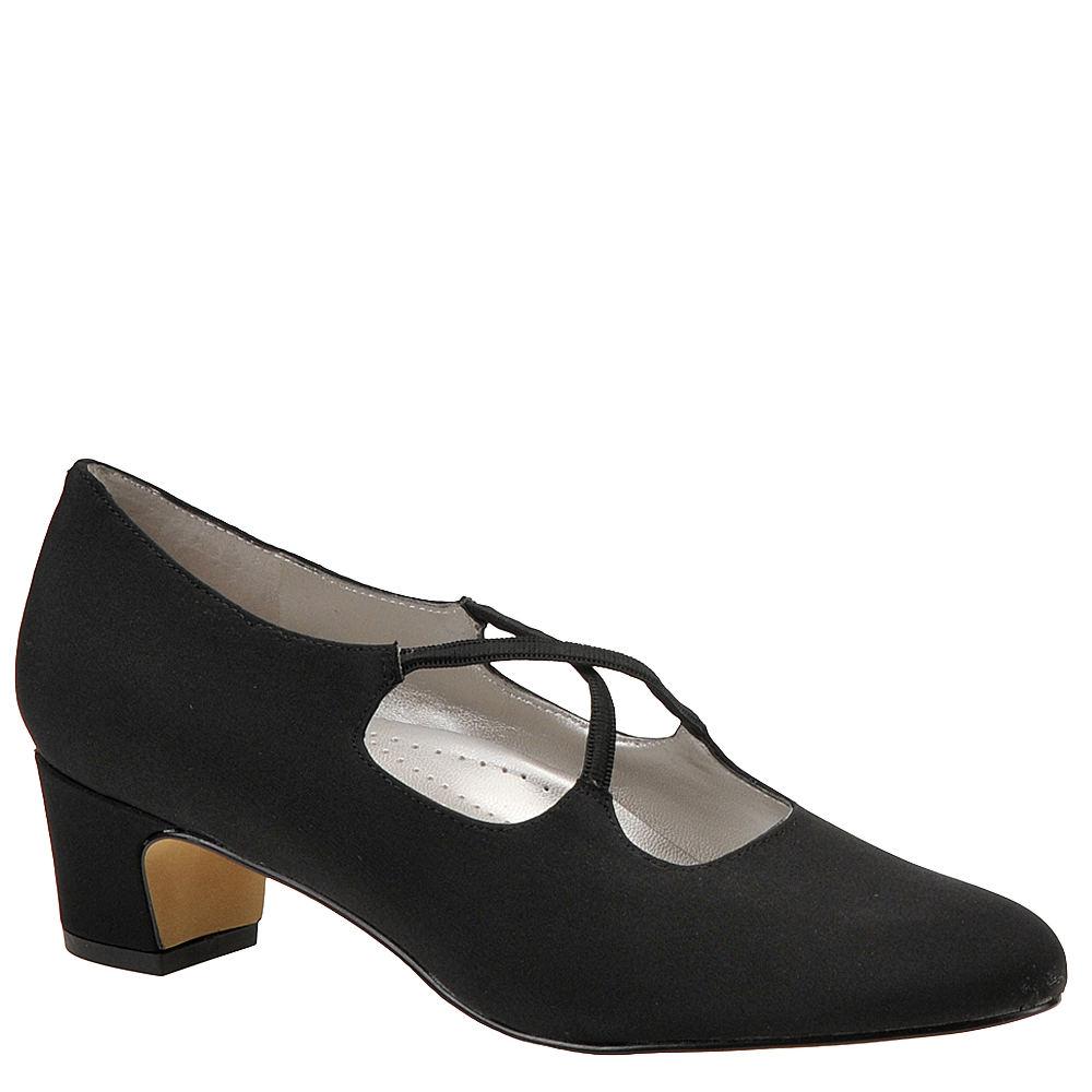 Edwardian Shoes & Boots | Titanic Shoes Trotters Womens Jamie Pump Black Pump 11 D $94.95 AT vintagedancer.com