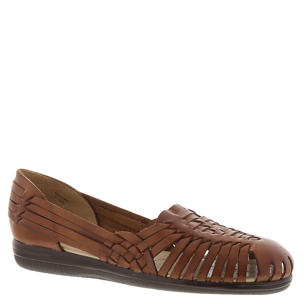 1940s Style Shoes, 40s Shoes Softspots Trinidad Womens Brown Sandal 12 W $59.95 AT vintagedancer.com