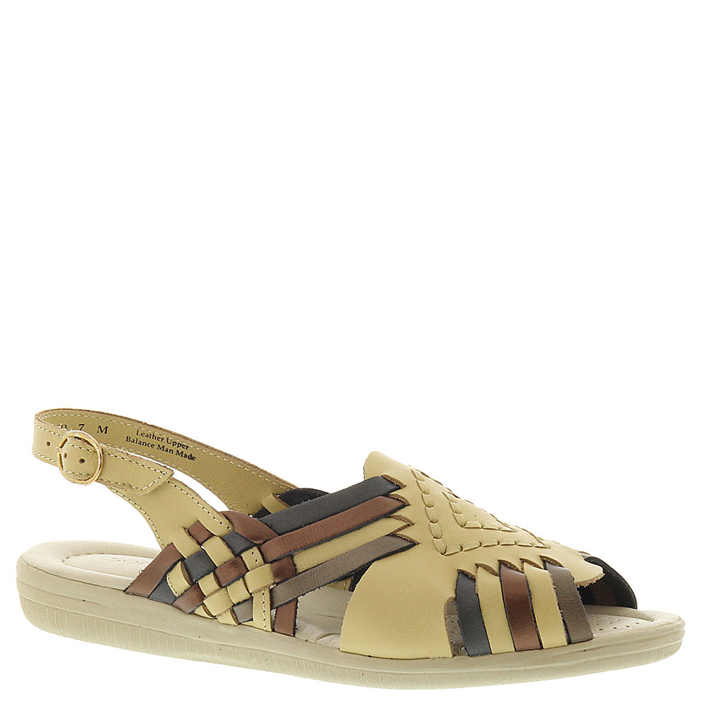 1940s Style Shoes, 40s Shoes Softspots Womens Tela Sling Multi Sandal 10 B $59.95 AT vintagedancer.com