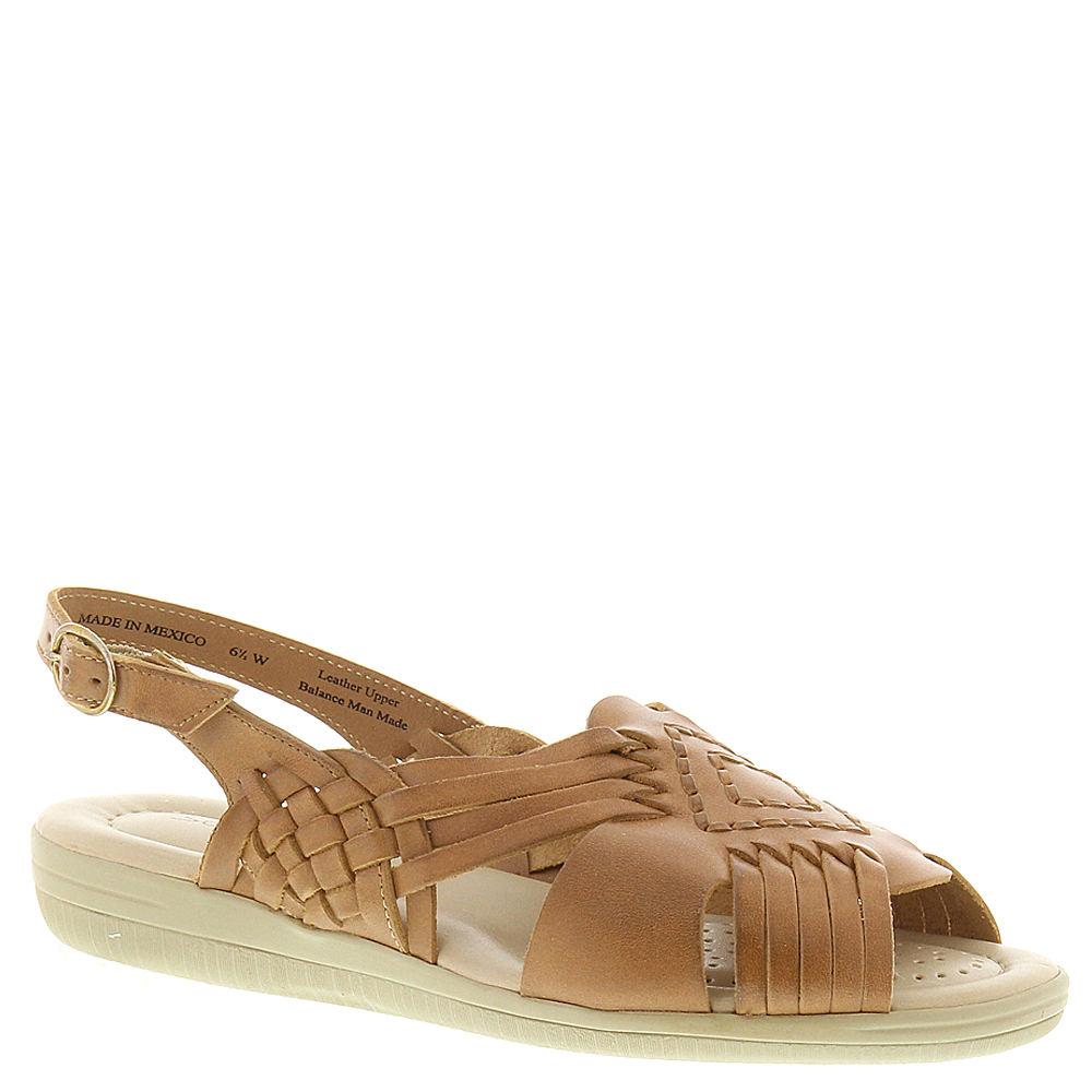 1940s Style Shoes, 40s Shoes Softspots Womens Tela Sling Bone Sandal 7.5 D $59.95 AT vintagedancer.com