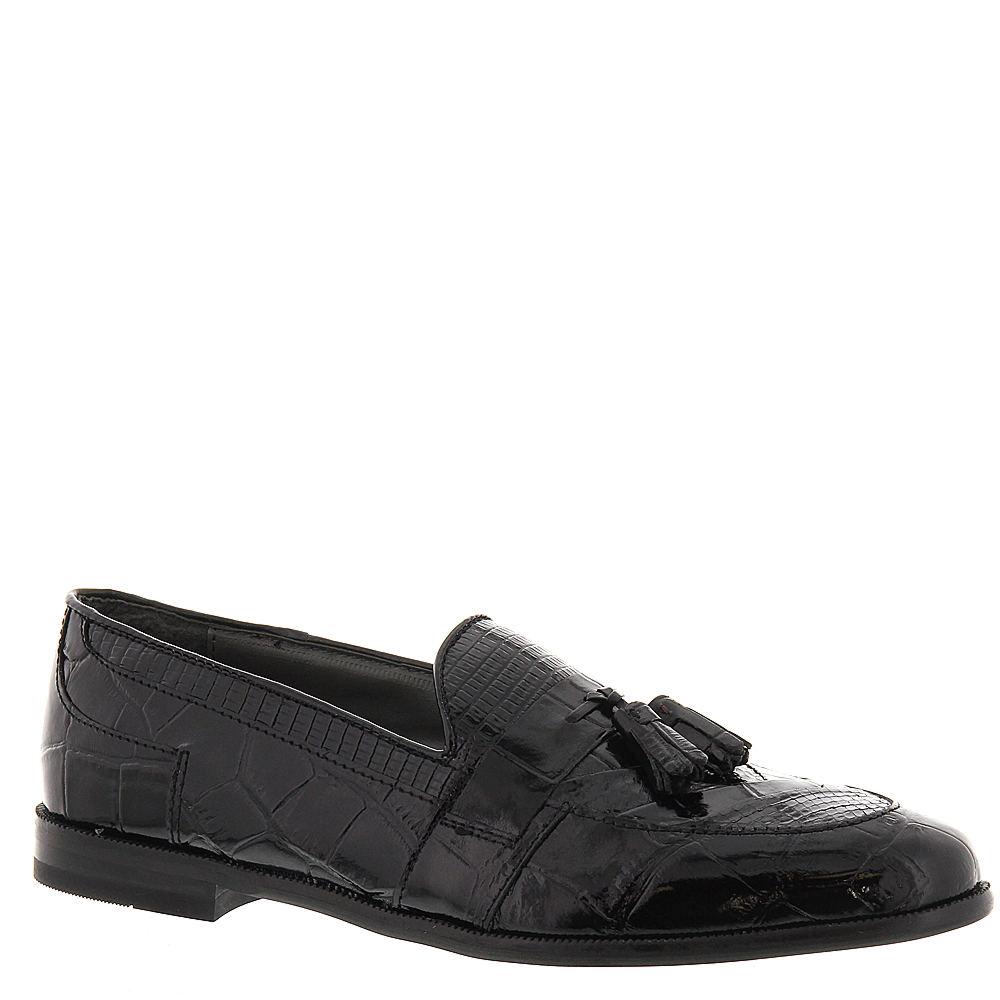 1950s Mens Shoes: Saddle Shoes, Boots, Greaser, Rockabilly Stacy Adams Mens Sabola Tassel Slip-On Black Slip On 13 M $89.95 AT vintagedancer.com