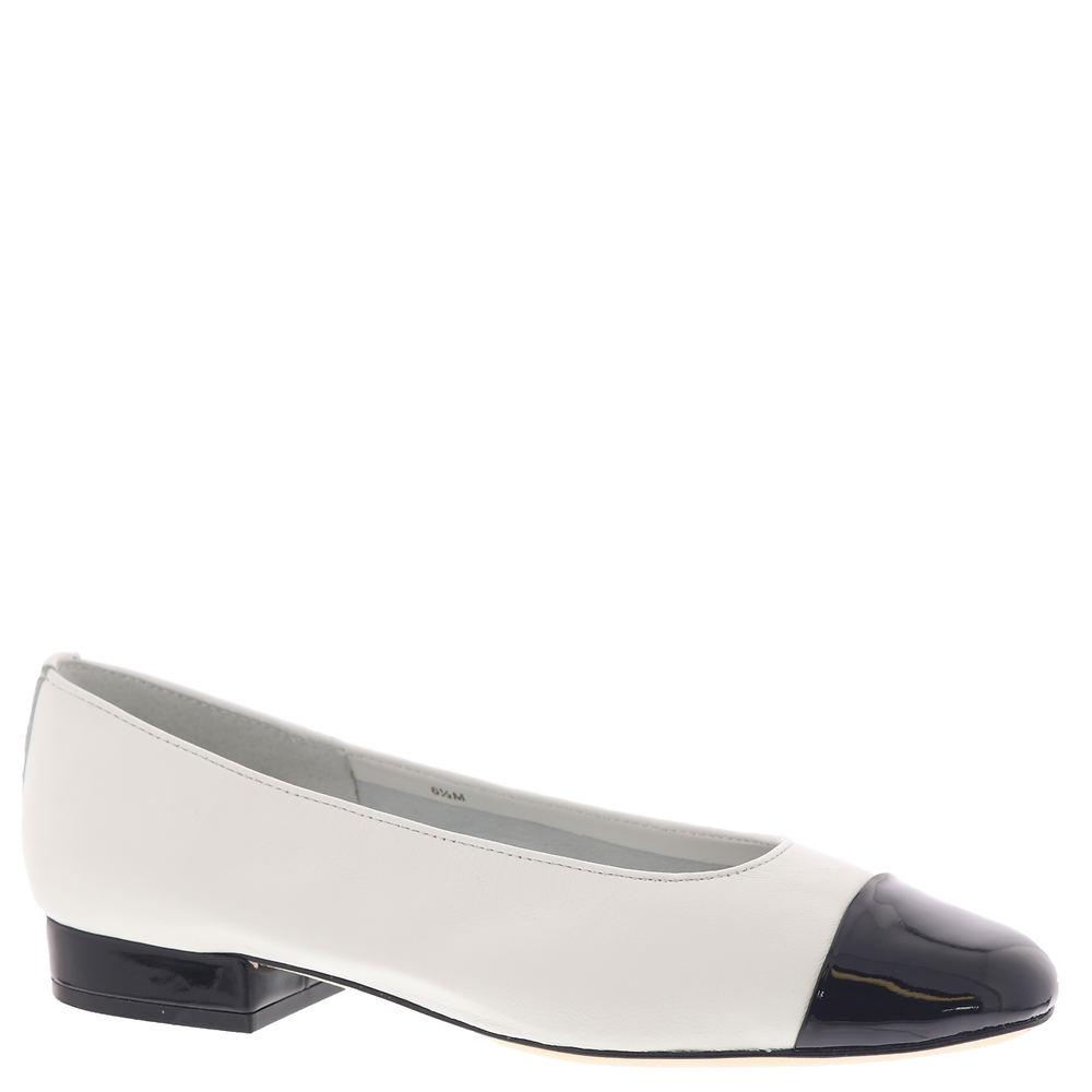 60s Shoes, Go Go Boots Van Eli Frankie Womens White Slip On 11.5 A4 $119.95 AT vintagedancer.com
